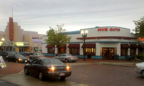 Five Guys Burgers- Kentlands Market Square, Montgomery County, Maryland
