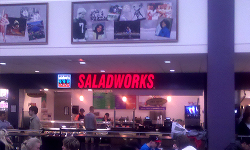 SaladWorks - University of Maryland College Park Stamp Student Union Restaurant Project