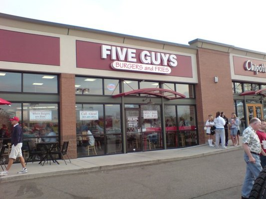 Five Guys Burgers--Longmont, Colorado