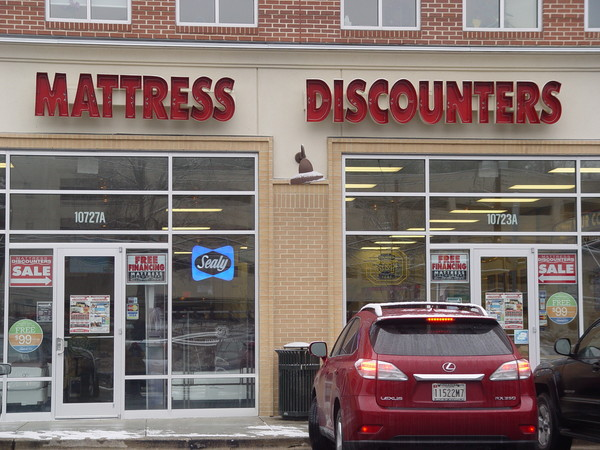 Mattress Discounters, Shoppes of Burnt Mills, Silver Spring, MD