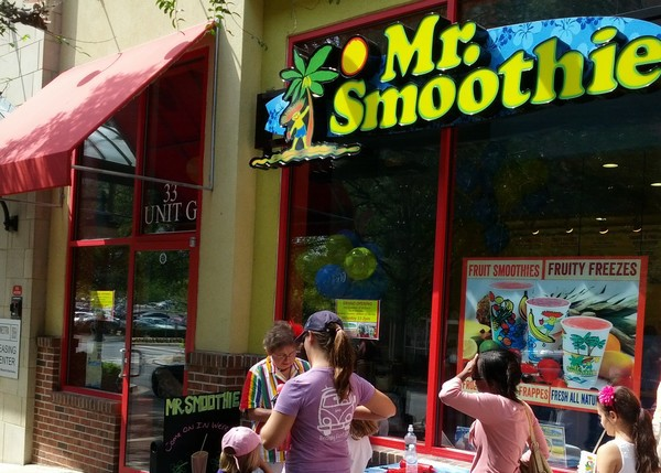 Mr. Smoothie--Rockville Town Center, Rockville, Maryland